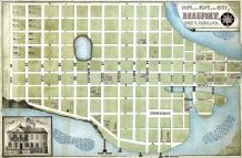 Beaufort 186x City Plot Map 24x36, Beaufort 186x City Plot Map
